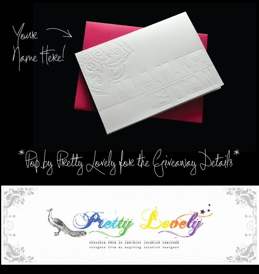 Pretty Lovely Things Giveaway