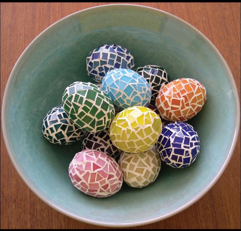 Have an egg cellent weekend for Egg mosaic design