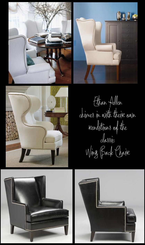 Awe Inspiring Recliner Chair Wing Back Recliner Chair Ethan Allen Short Links Chair Design For Home Short Linksinfo