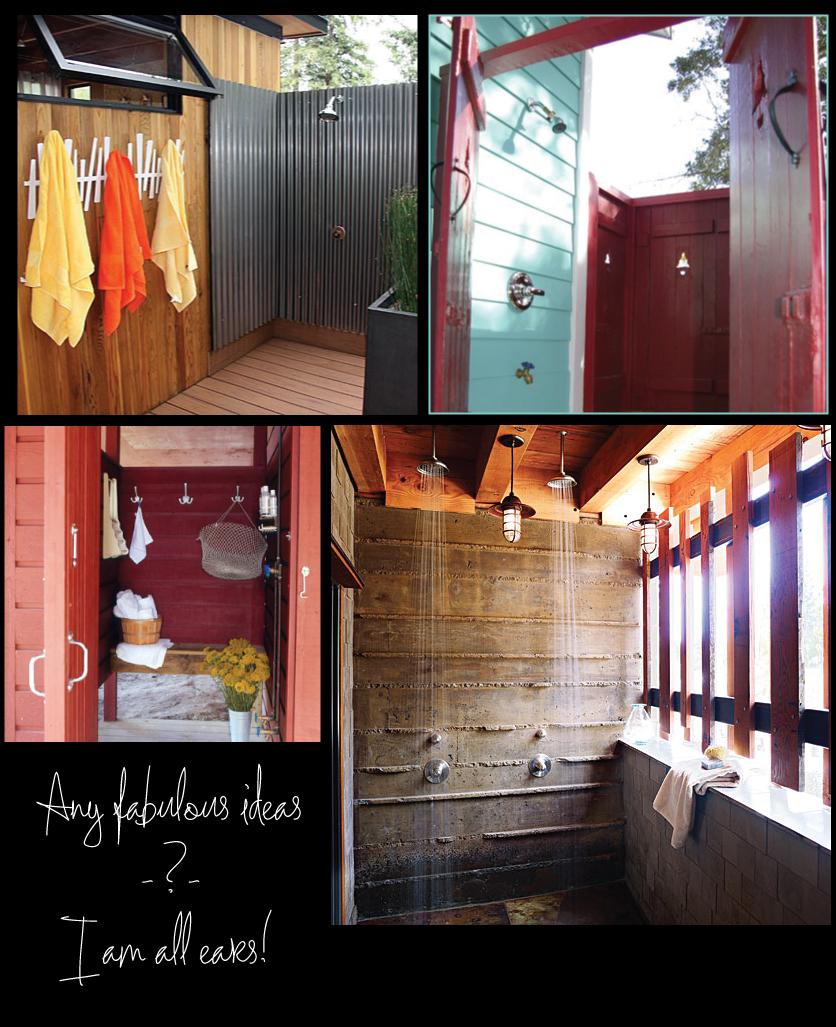 Outdoor shower enclosure ideas - Outdoor shower enclosure ideas ...